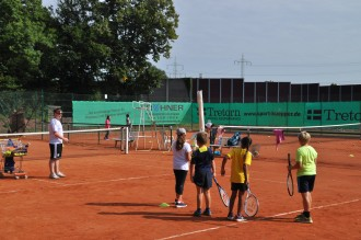 Tenniscamp Motiv neu